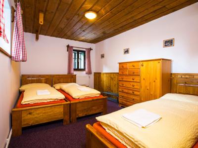 Horská chata Skácelka - ubytování